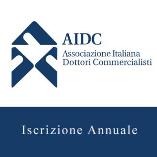 Acquista on-line l'iscrizione all'AIDC